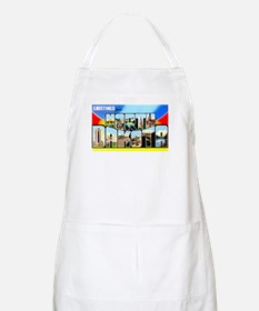 North Dakota Greetings BBQ Apron