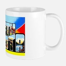 North Dakota Greetings Mug