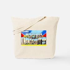 North Dakota Greetings Tote Bag