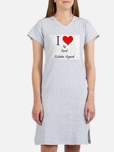 I Love My Real Estate Agen T-Shirt
