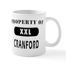 Property of Cranford Gifts T- Mug