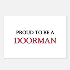 Proud to be a Doorman Postcards (Package of 8)