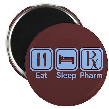 """Eat, Sleep, Pharm 2.25"""" Magnet (100 pack)"""
