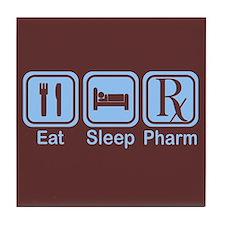 Eat, Sleep, Pharm Tile Coaster