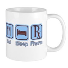 Eat, Sleep, Pharm Mug