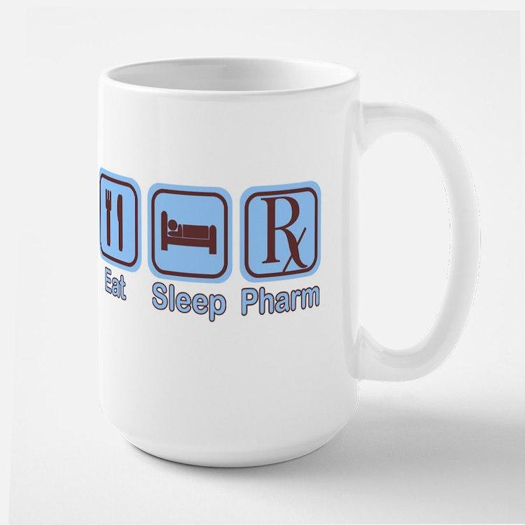 Eat, Sleep, Pharm Mug