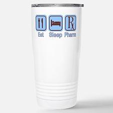 Eat, Sleep, Pharm Stainless Steel Travel Mug