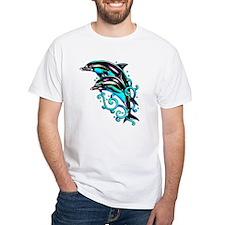 Jumping Dolphins Sea Life (Front) Shirt