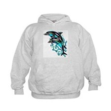 Jumping Dolphins Sea Life Hoodie