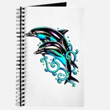 Jumping Dolphins Sea Life Journal