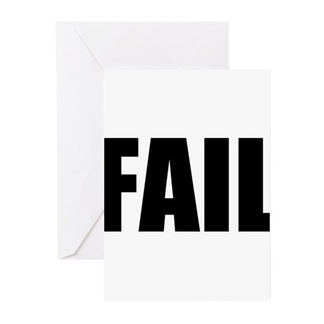 FAIL Greeting Cards (Pk of 20)