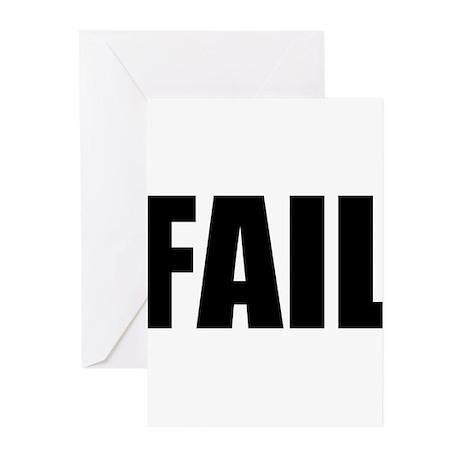 FAIL Greeting Cards (Pk of 10)