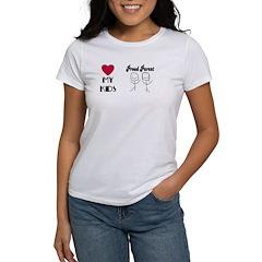 LOVE MY KIDS (PROUD PARENTS) Women's T-Shirt
