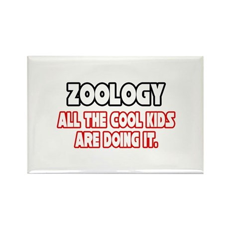 """""""Zoology...Cool Kids"""" Rectangle Magnet"""