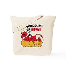 Handsome Devil Tote Bag