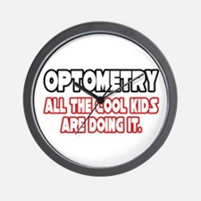 """Optometry...Cool Kids"" Wall Clock"