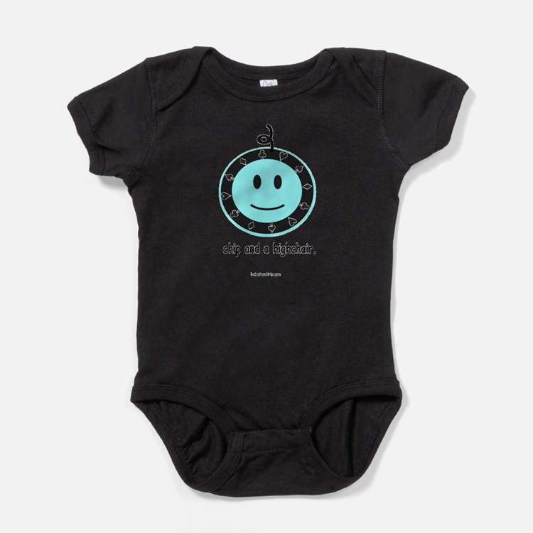 Chip and Highchair Infant Creeper Body Suit