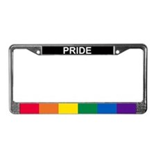 Gay Pride License Plate Frame