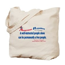 A well informed people.. Tote Bag
