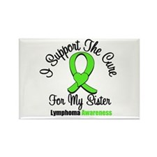 Lymphoma Cure (Sister) Rectangle Magnet