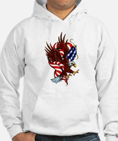 American Eagle Flag Tattoo Hoodie Sweatshirt