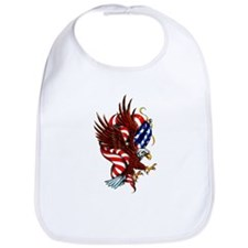 American Eagle Flag Tattoo Bib