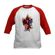 American Eagle Flag Tattoo (Front) Tee