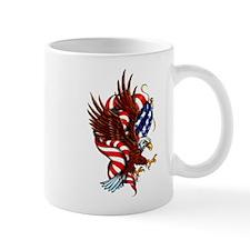 American Eagle Flag Tattoo Mug