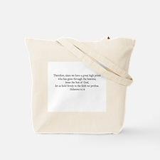 Stick With Jesus Tote Bag