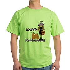 Little Girl Witch T-Shirt