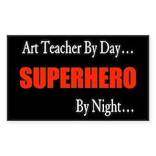 Art Teacher Rectangle Decal