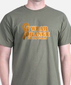 I wear orange friend T-Shirt