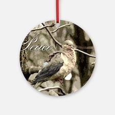 Peace Dove Keepsake (Round)