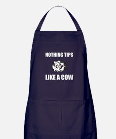 Nothing Tips Like Cow Apron (dark)