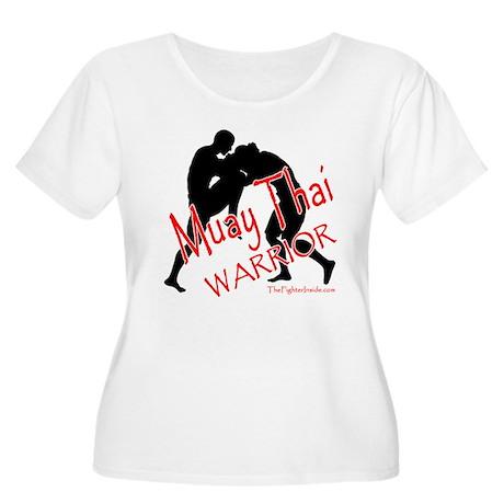 Muay Thai Warrior Women's Plus Size Scoop Neck T-S