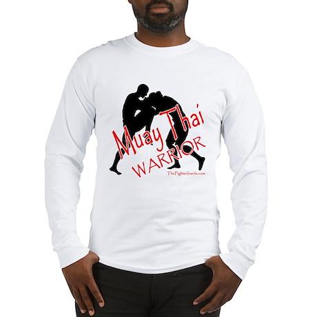Muay Thai Warrior Long Sleeve T-Shirt