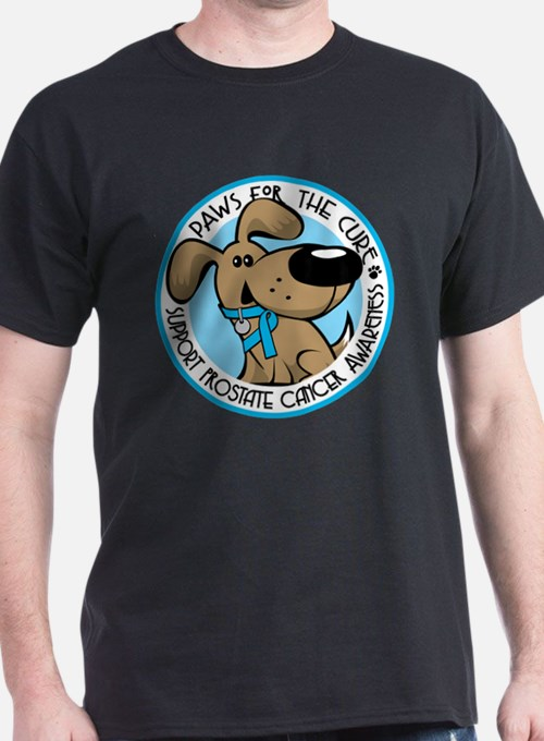Paws for the Cure: Prostate Cancer T-Shirt