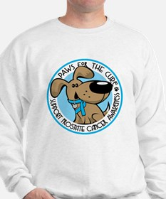 Paws for the Cure: Prostate Cancer Sweatshirt