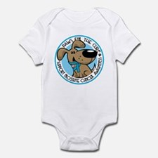Paws for the Cure: Prostate Cancer Infant Bodysuit