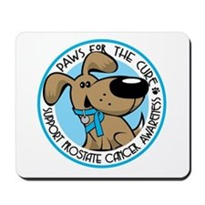 Paws for the Cure: Prostate Cancer Mousepad