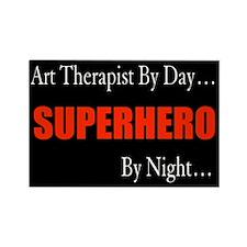 Art Therapist Gift Rectangle Magnet (100 pack)