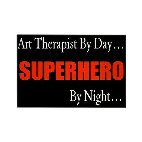 Art Therapist Gift Rectangle Magnet