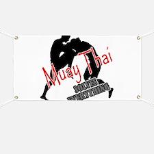 Muay Thai Solves Everything Banner