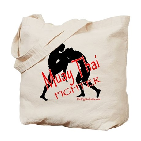 Muay Thai Fighter Tote Bag