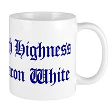 High Highness Deacon White Mug