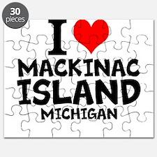 I Love Mackinac Island, Michigan Puzzle