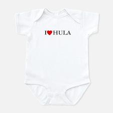 I Love Hula Infant Bodysuit