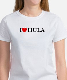 I Love Hula Women's T-Shirt