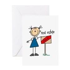 Real Estate Agent Greeting Card