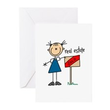 Real Estate Agent Greeting Cards (Pk of 10)